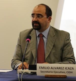 Emilio Álvarez Icaza, secretario ejecutivo de la CIDH