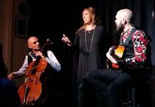 Esperanza Fernandez en concierto con Dani Bonilla y Watios