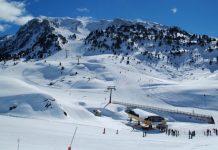 Estación de esquí en Baqueira