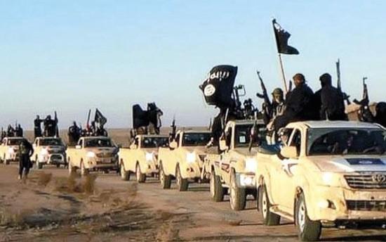 Fuerzas paramilitares del Estado Islámico