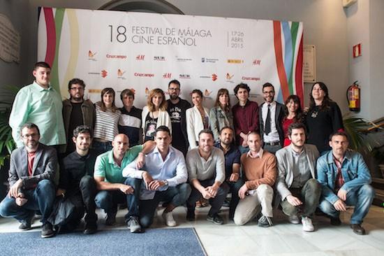 Premiados en la 18 edición del Festival de Málaga. Cine Español. Foto Ana Belén Fernández