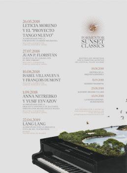 Formentor Sunset Classics cartel 2018