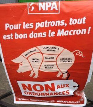 Francia Macron protestas