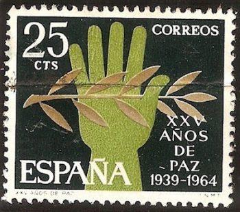 Franco sello 25 años de paz
