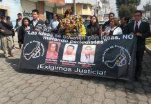 Protestas en Guatemala por el asesinato de periodistas