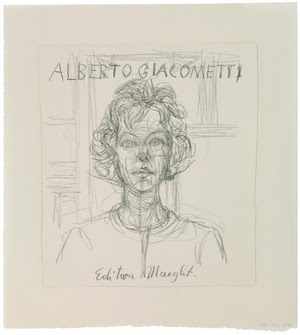 Foto:Annette. Para el libro de Jacques Dupin...dibujo a lápiz.Alberto Giacometti estate/VEGAP, 2015