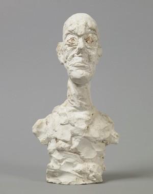Busto de hombre, yeso pintado.1962 Alberto Giacometti Estate/VEGAP 2015
