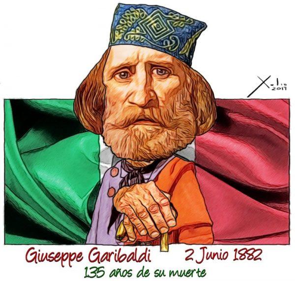 Giuseppe Garibaldi por Xulio Formoso