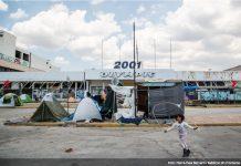 Grecia refugiados aeropuerto Elliniko