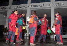 Greenpeace, los activistas que abordaron el Stolt Tenacity liberados en Algeciras