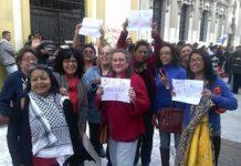 Reivindicación de democracia paritaria en Guatemala
