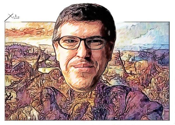 Guillermo Altares por Xulio Formoso