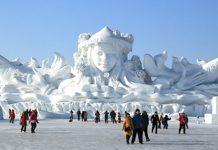 Harbin (China): esculturas de hielo