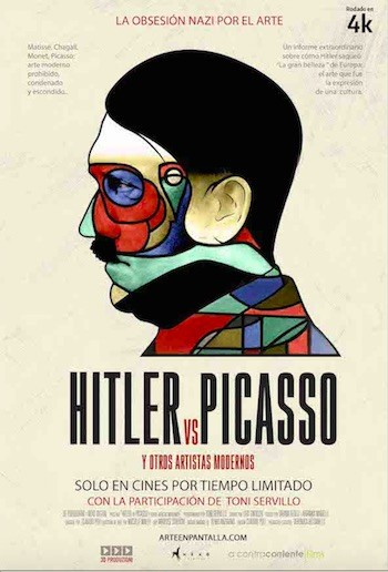 Hitler versus Picasso poster