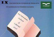 IX Encuentro de Ateneos de Andalucía