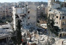 Idlib, ruinas. Sputnik