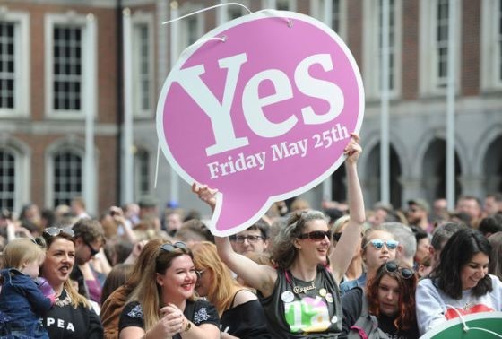 Irlanda despenaliza aborto 25MAY2018