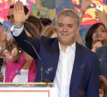 Ivan Duque presidente electo de Colombia