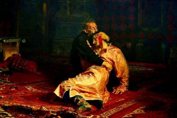 'Iván el terrible y su hijo', de Iliá Repin, un cuadro 'maldito'.