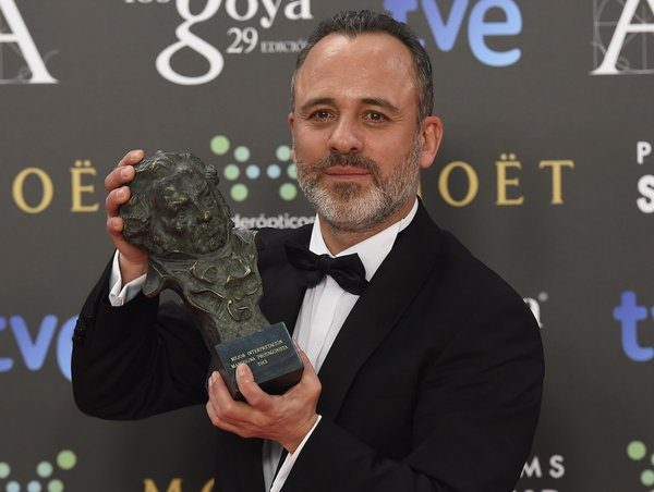 Javier Gutierrez premio Goya