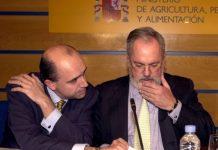 Manuel Lamela como Miguel Arias Cañete en el Ministerio de Agricultura