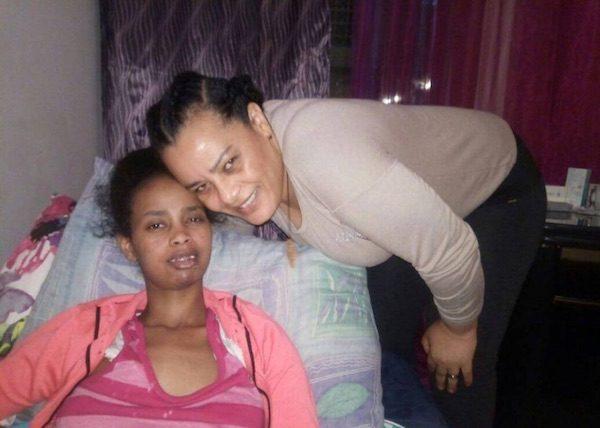 Lensa con su tía Ganeth