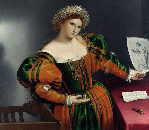 Lotto Retrato de Lucrecia