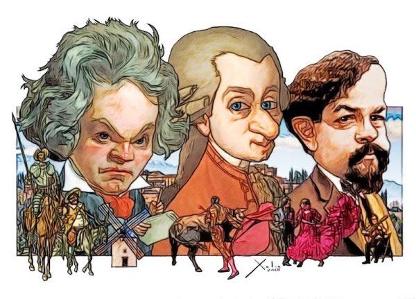 Músicos y España por Xulio Formoso