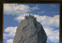 Magritte The castle of the Pyrenees