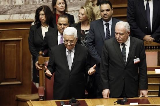 Mahmud Abbas agradece al Parlamento griego el reconocimiento de Palestina como Estado