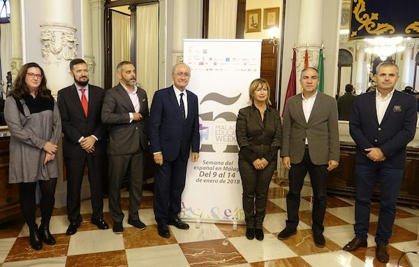 Presentación de Málaga Education Week en el Ayuntamiento de Málaga