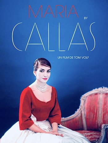 Maria by Callas cartel