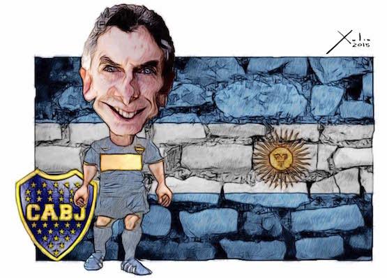 Mauricio Macri, por Xulio Formoso