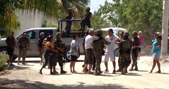 Mexico Ejercito detenidos