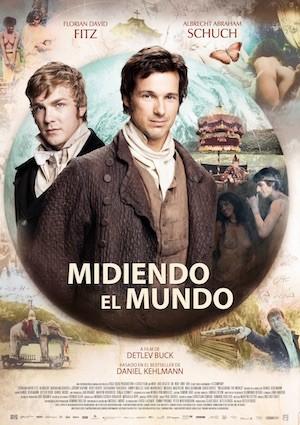 Midiendo el mundo ((Die vermessung der welt), cartel en español