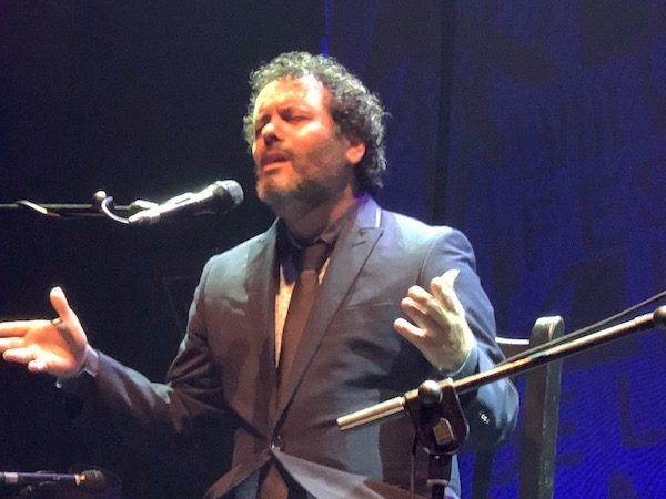 Miguel Ortega en el Festival de Cante de las Minas 2018