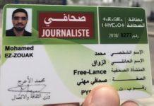 Mohamed Ez-Zouak, carné de prensa
