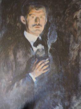 Munch: autorretrato