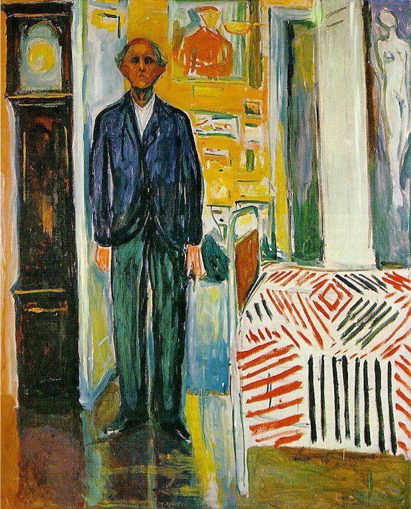 Munch: entre el reloj y la cama