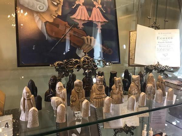 Museo del ajedrez de Moscu