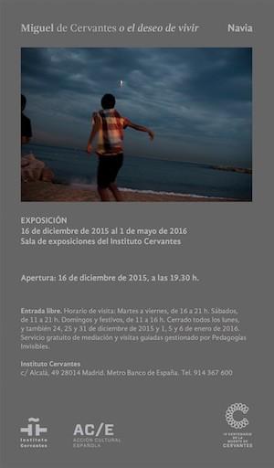 Navia, el mundo cervantino, cartel