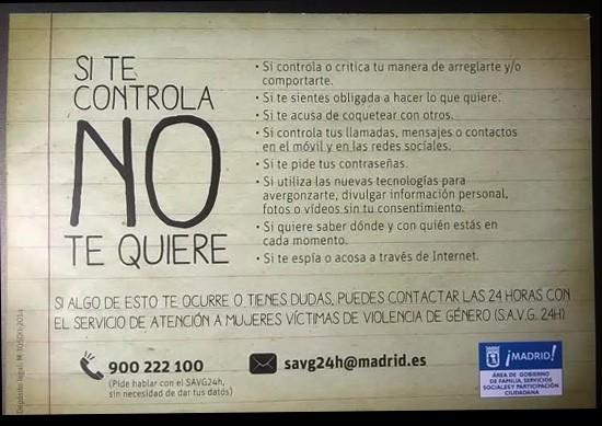 El control no es amor.