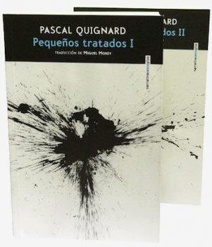 Pascal Quignard portadas pequeños tratados