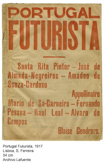 Portugal Futurista cartel