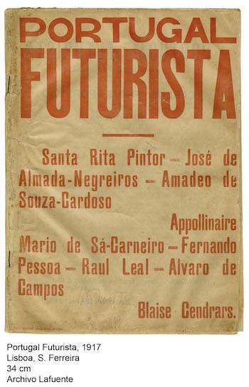 Portugal Futurista cartel