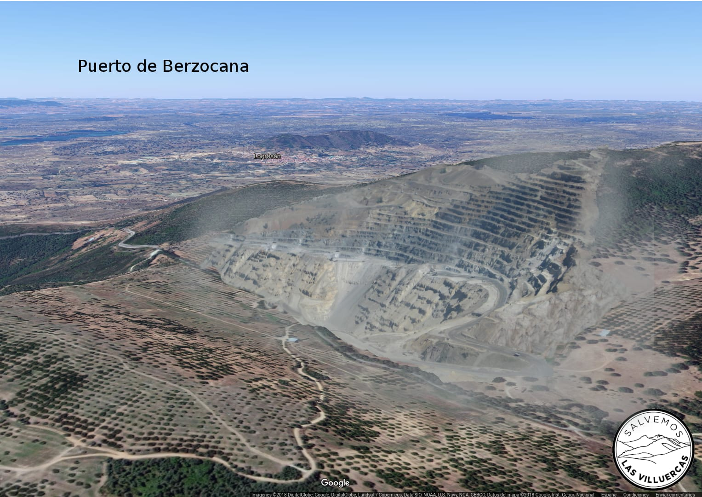 Puerto de Berzocana mineras