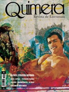 Portada de la revista de literatura Quimera, marzo de 2016