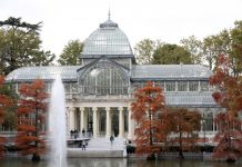 Retiro Madrid Palacio Cristal