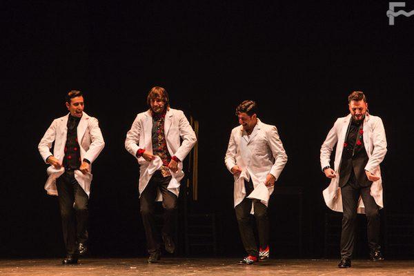 Roberto Jaén, El Junco, David Palomar, Riki Rivera. Fot Javier Fergo