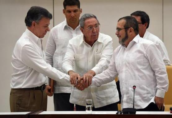 Gobierno de Colombia y las FARC alcanzan acuerdo final